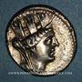Monnaies Phénicie. Arados. Tétradrachme, an 198 (= 62/1 av. J-C)