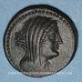 Monnaies Phénicie. Marathos. Bronze an 98 (= 162-161 av. J-C)