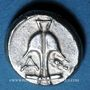 Monnaies Région de la Mer Noire, Apollonia Pontica, drachme,  après 400 av. J-C