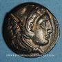 Monnaies Roy. de Macédoine. Alexandre III le Grand (336-323 av. J-C) Tétradrachme Amphipolis, 332-326 av J-C