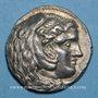 Monnaies Roy. de Macédoine. Alexandre III le Grand (336-323 av. J-C). Tétradrachme. Babylone 324-323 av. J-C