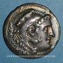 Monnaies Roy. de Macédoine. Alexandre III le Grand (336-323 av. J-C) Tétradrachme. Chios, 190-165 av J-C