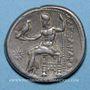 Monnaies Roy de Macédoine. Alexandre III le Grand (336-323 av. J-C). Tétradrachme. Sardes. 319-315 av. J-C