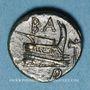 Monnaies Roy. de Macédoine. Démetrios I Poliorcète (294-288 av. J-C). 1/2 unité. Atelier incertain, 290-283