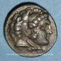 Monnaies Roy. de Macédoine. Philippe III l'Aridée (323-317 av. J-C). Tétradrachme. Salamis,  323/315 av. J-C