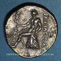 Monnaies Roy. de Syrie. Antiochus II Theos (261-246 av. J-C). Tétradrachme. Séleucie du Tigre