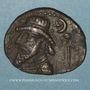 Monnaies Royaume d'Elymaïde. Dynastie Arsacide, vers 25 av. J-C - 228. Roi incertain. Tétradrachme, Séleucie