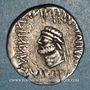 Monnaies Royaume d'Elymaïde. Kamnaskires V (v. 53-32 av. J-C). Tétradrachme, Séleucie
