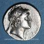 Monnaies Royaume de Cappadoce. Ariarathes VI Epiphane Philopator (130-115 av. J-C). Drachme, an 15