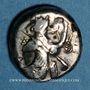Monnaies Royaume de Lydie. Dynastes achéménides. Sicle, vers 485-420 av. J-C