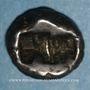 Monnaies Royaume de Lydie. Epoque de Crésus (vers 561-546 av. J-C). Sicle
