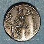 Monnaies Royaume de Macédoine. Alexandre III le Grand (336-323 av. J-C). Drachme. Lampsaque, 323-317 av. J-C