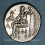 Monnaies Royaume de Macédoine. Alexandre III le Grand (336-323 av J-C). Drachme. Sardeis, 322-319 av. J-C