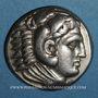 Monnaies Royaume de Macédoine. Alexandre III le Grand (336-323 av. J-C) Tétradrachme Amphipolis 323-320 av JC