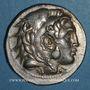 Monnaies Royaume de Macédoine. Alexandre III le Grand (336-323). Tétradrachme.  Pella (?)  276-274 av J-C