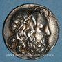 Monnaies Royaume de Macédoine. Antigone Doson (229-221 av. J-C). Tétradrachme