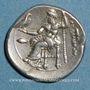 Monnaies Royaume de Macédoine. Philippe III l'Aridée (323-316 av. J-C). Drachme. Colophon, 323-319 av. J-C