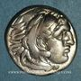 Monnaies Royaume de Macédoine. Philippe III l'Aridée (323-316 av. J-C). Drachme. Lampsaque, 323-317 av. J-C