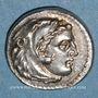 Monnaies Royaume de Macédoine. Philippe III l'Aridée (323-317 av. J-C). Drachme. Sardes, 323-319 av. J-C