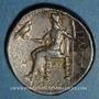 Monnaies Royaume de Macédoine. Philippe III l'Aridée (323-317 av. J-C). Tétradrachme. Babylone, 323-317