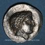 Monnaies Royaume de Péonie. Patraos (vers 335 - vers 315 av. J-C). Tétradrachme