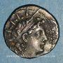 Monnaies Royaume de Syrie. Antiochus VI Dyonisos (144-142 av. J-C). Drachme. Antioche, vers 143-142 av. J-C