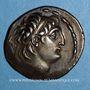 Monnaies Royaume de Syrie. Antiochus VII Evergète Sidètes (138-129 av. J-C). Tétradrachme. Damas