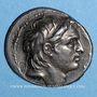 Monnaies Royaume de Syrie. Démetrius I Soter. Tétradrachme. Antioche sur l'Oronte, 153/2 av. J-C