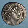 Monnaies Royaume de Syrie. Philippe Philadelphe (95-75 av. J-C). Tétradrachme. Antioche sur l'Oronte
