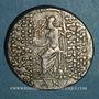 Monnaies Royaume de Syrie. Philippe Philadelphe (95-75 av. J-C). Tétradrachme. Tarsus (?), 88-75 av. J-C