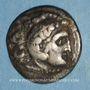 Monnaies Royaume de Thrace. Lysimaque (323-281 av. J-C). Drachme. Colophon, vers 301/229 av. J-C