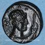 Monnaies Royaume des Kouchans. Vima Taktu le Grand Sauveur (Soter Megas, vers 55-105). Tétradrachme, Taxila