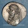 Monnaies Royaume des Parthes. Mithradates II (123-88 av. J-C). Drachme. Ecbatane