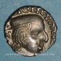 Monnaies Royaume Indo-Scythe. Satrapes de l'Ouest. Vijayasena (238-250). Drachme, an 16X