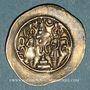 Monnaies Royaume sassanide. Chosroès I (531-579). Drachme type II /2, an 2. GD= Jay