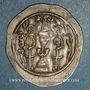 Monnaies Royaume sassanide. Hormazd IV (579-590). Drachme type I/1. An 12. YZ= Yazd