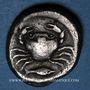 Monnaies Sicile. Agrigente. Didrachme, vers 480-470 av. J-C