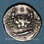 Monnaies Sicile. Agrigente. Hémidrachme, vers 410 av. J-C