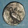 Monnaies Sicile. Agrigente. Litra, vers 450-439 av. J-C