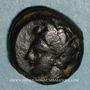 Monnaies Sicile. Aitna. Bronze, vers 405-400 av. J-C