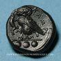 Monnaies Sicile. Camarina. Tétras. Vers 410-405 av. J-C