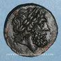 Monnaies Sicile. Centuripe. Dékonkion. Vers 344-336 av. J-C