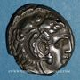 Monnaies Sicile. Entella. Monnayage siculo-punique, vers 300-289 av. J-C. Tétradrachme atelier des questeurs