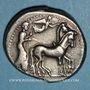 Monnaies Sicile. Géla. Tétradrachme, 420-405