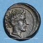 Monnaies Sicile. Géla (vers 420-405 av. J-C). Tétras