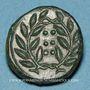 Monnaies Sicile. Himère. Hémilitron ou hexonkion. Vers 415-409 av. J-C