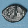 Monnaies Sicile. Himère (Thermea Himerenses). Bronze, vers 407-340 av. J-C