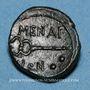 Monnaies Sicile. Ménaion. Hexas. Fin du 2e siècle av. J-C