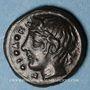 Monnaies Sicile. Piakos. Tétras ou trionkon (vers 420-400 av. J-C)