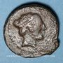 Monnaies Sicile. Ségeste (410-400 av. J-C.). Triantes